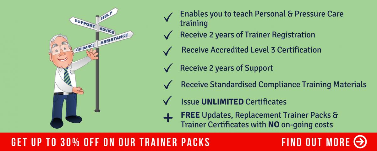 Trainer Courses Personal Pressure Care Trainer Course