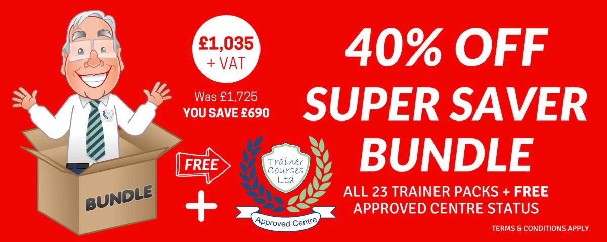Trainer Courses | Trainer Packs Super Saver Bundle